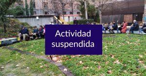 Actividad suspendida