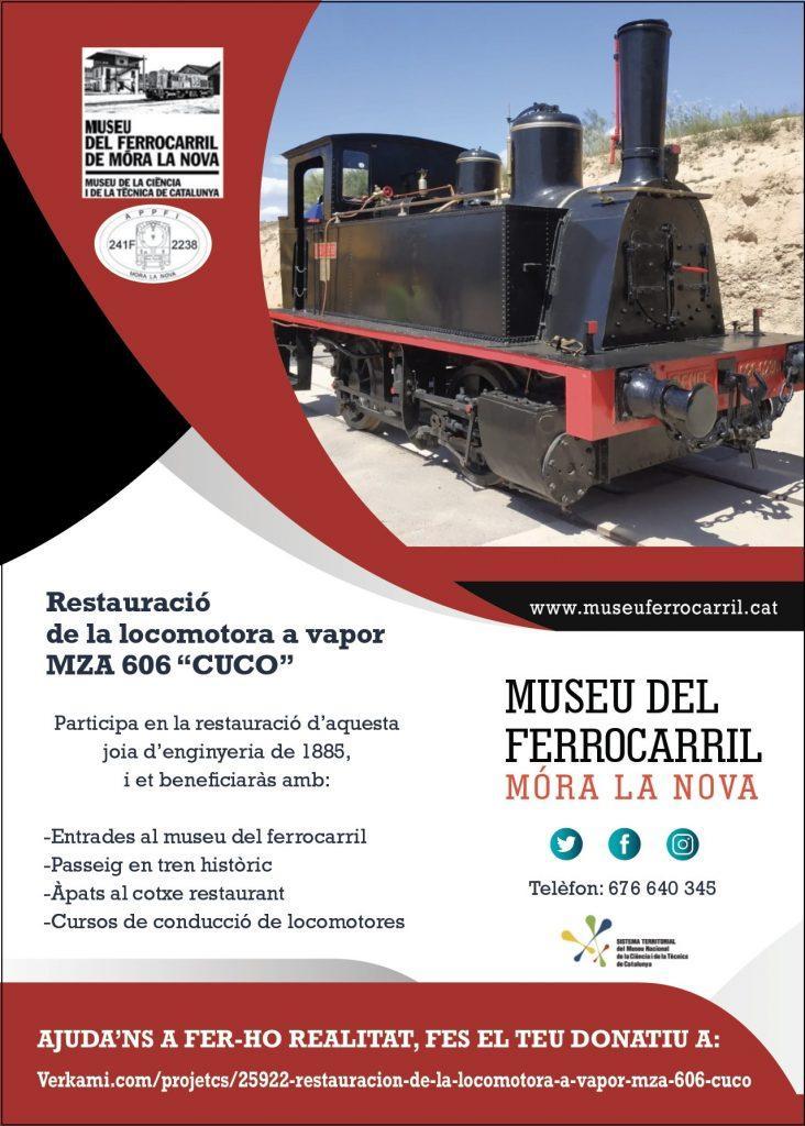"Cartel campaña restauración ""Cuco"" Mora la Nóva"