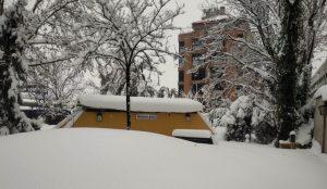 El FCD bajo la nieve