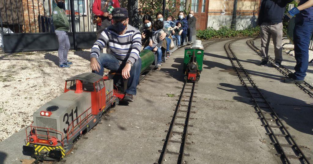 El Ferrocarril de las Delicias durante uno de sus días de apertura